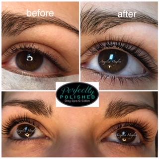 Before After Eyelashes