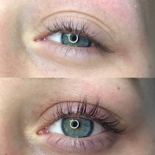 Before After lashes